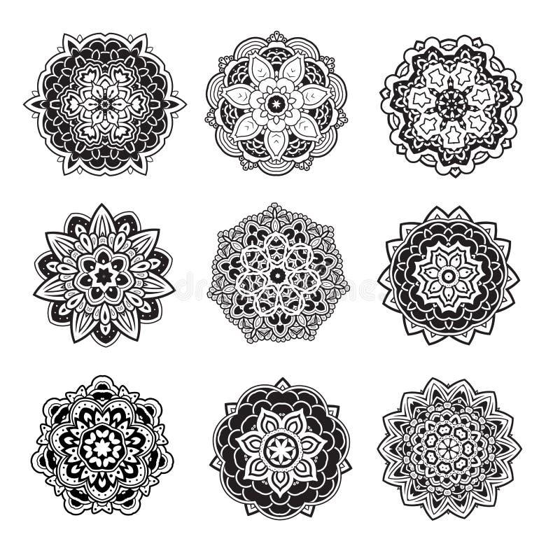 Mandalas vector illustration