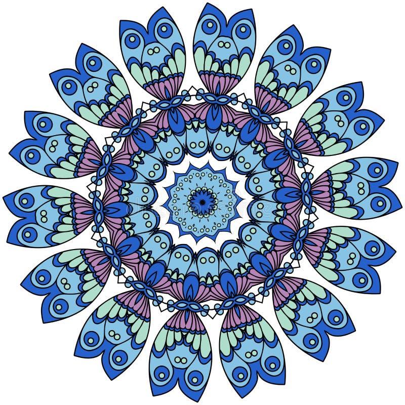 mandalas Uitstekende decoratieve elementen Oosters patroon, vector royalty-vrije illustratie