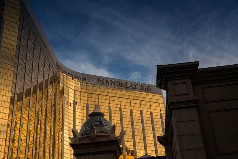 Mandalay Bay Casino. Las Vegas, Mandalay Bay Casino -reflections stock photo