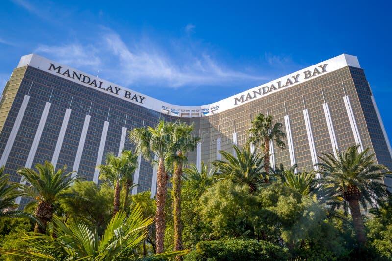 Mandalay Bay Hotel and Casino royalty free stock photography
