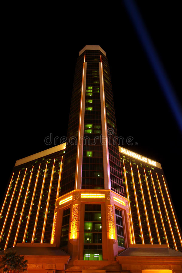 Mandalay Bay Resort and Casino royalty free stock images