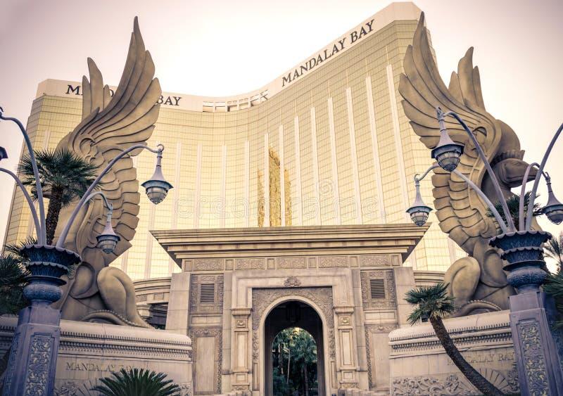 Mandalay fjärdhotell och kasino, Las Vegas royaltyfria foton