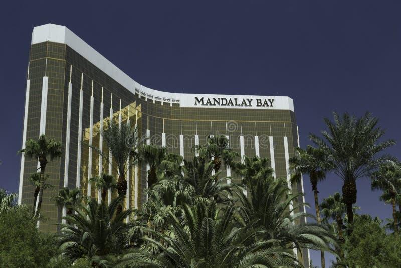 Mandalay fjärdhotell och kasino Las Vegas fotografering för bildbyråer