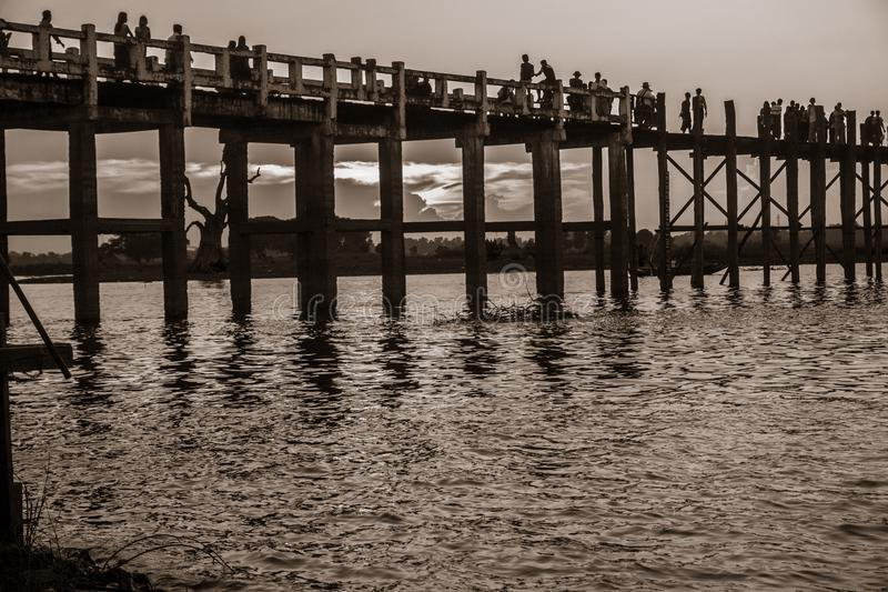 Mandalay, Myanmar image stock