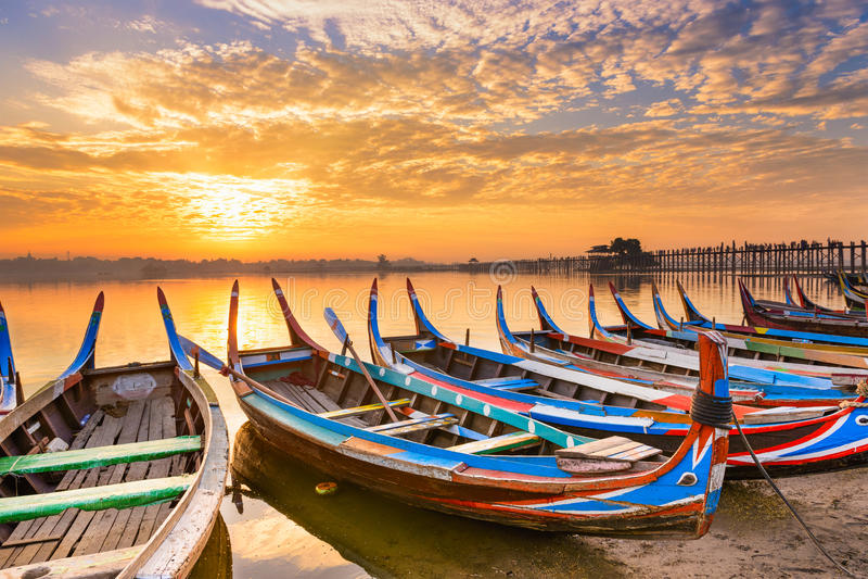Mandalay Myanmar royalty-vrije stock fotografie
