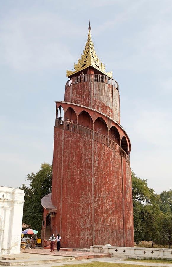 Mandalay Palace lizenzfreie stockbilder