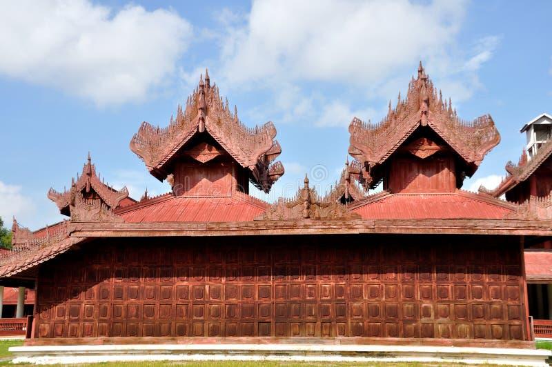 Mandalay Palace. The Mandalay Palace, located in Mandalay, Myanmar, is the last royal palace of the last Burmese monarchy stock image