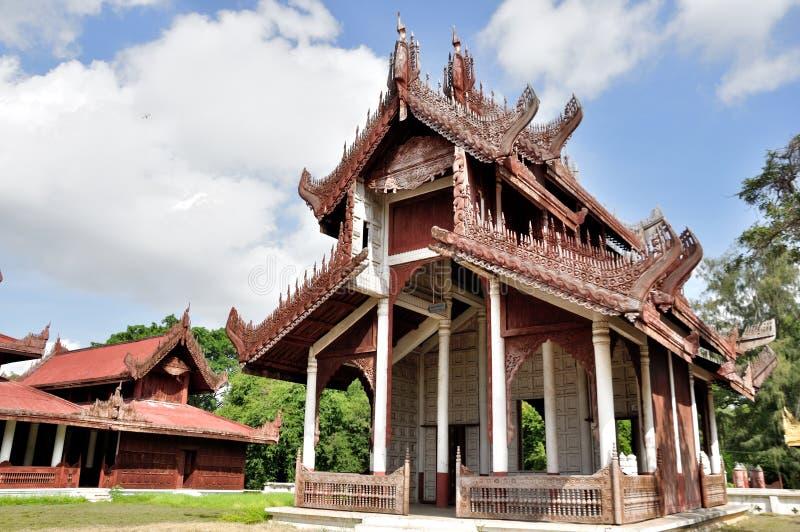 Mandalay Palace. The Mandalay Palace, located in Mandalay, Myanmar, is the last royal palace of the last Burmese monarchy royalty free stock photography