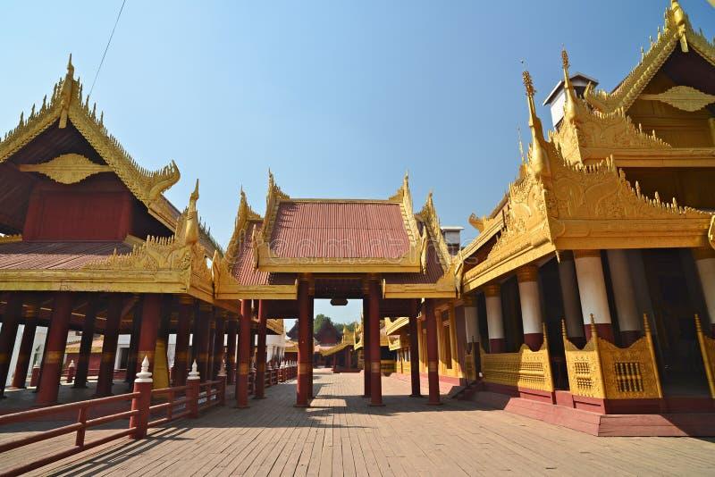 Mandalay Palace.Myanmar. The Mandalay Palace.Mandalay, Myanmar stock photos