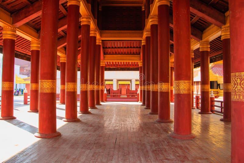 Mandalay Palace , Mandalay in Myanmar (Burmar). Historical Ancient Mandalay Palace , Mandalay in Myanmar (Burmar stock photos
