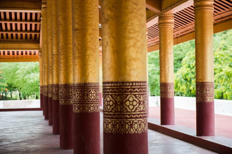 Mandalay palace. At Mandalay Myanmar royalty free stock photos