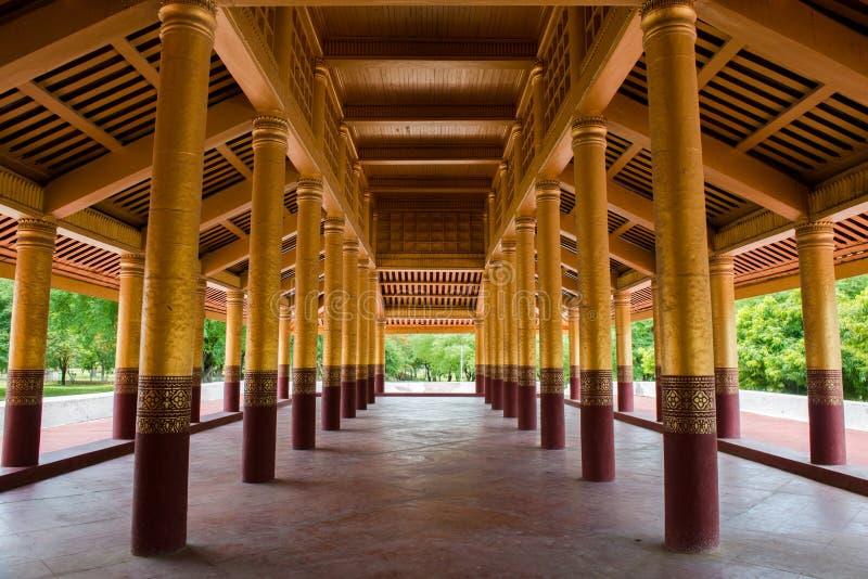Mandalay palace. At Mandalay Myanmar royalty free stock photo