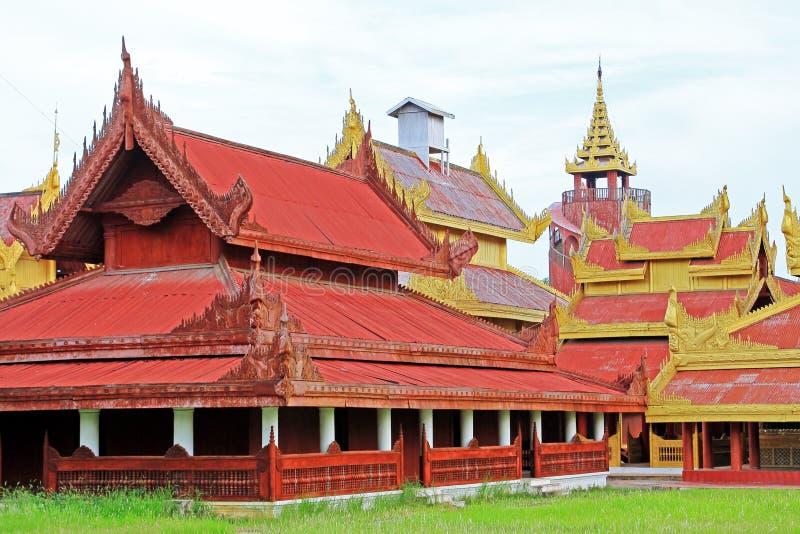 Mandalay Royal Palace, Mandalay, Myanmar. The Mandalay Palace located in Mandalay, Myanmar, is the last royal palace of the last Burmese monarchy. The palace was stock images