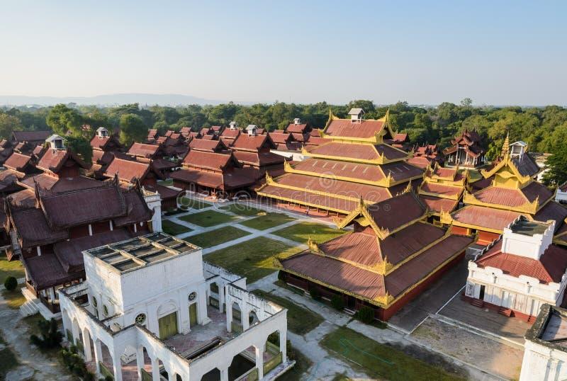 Mandalay Royal Palace, Myanmar fotografía de archivo libre de regalías