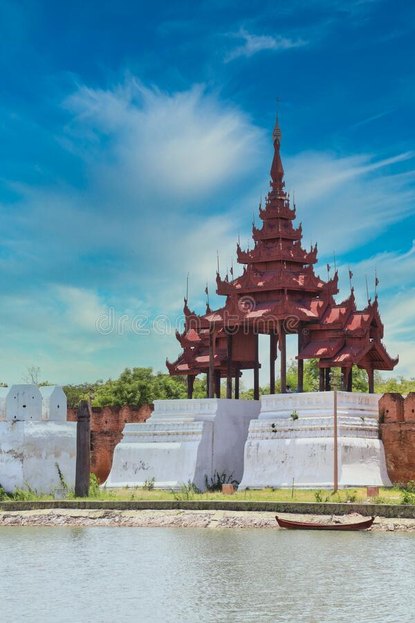 Mandalay is a second largest city of MyanmarBurma. MANDALAY/MYANMARBURMA - 26th Nov, 2019 : Mandalay is a second largest city of MyanmarBurma stock photo