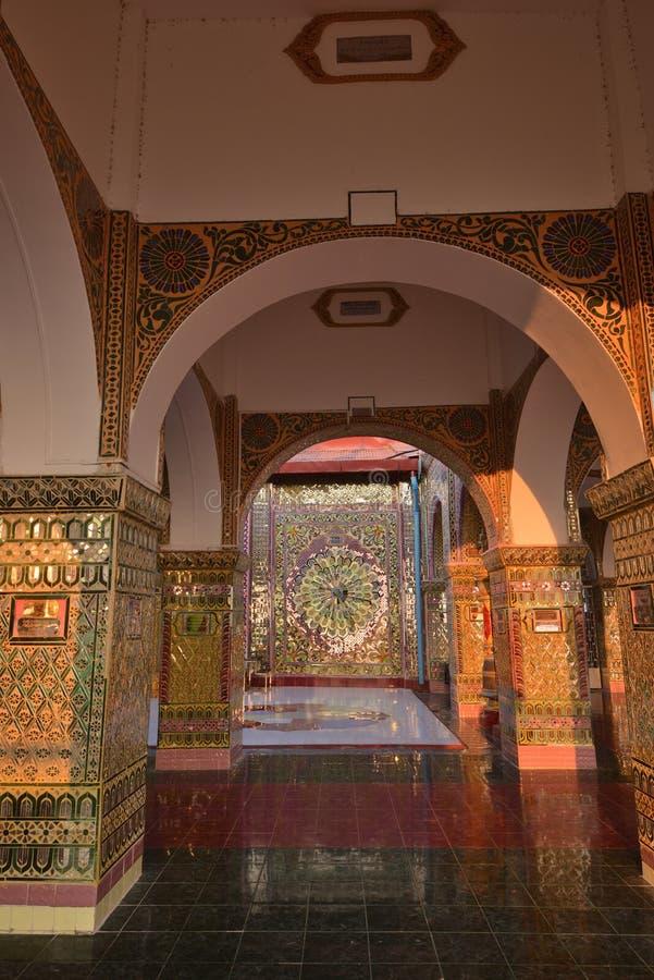 Mandalay Sutaungpye Pagoda royalty free stock photography