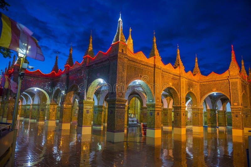 Mandalay wzgórze Myanmar obrazy royalty free