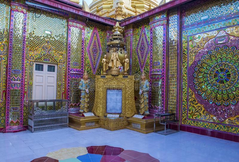 Mandalay wzgórze Myanmar fotografia royalty free