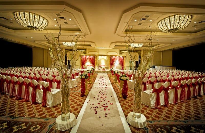 Mandap Wedding indiano imagens de stock