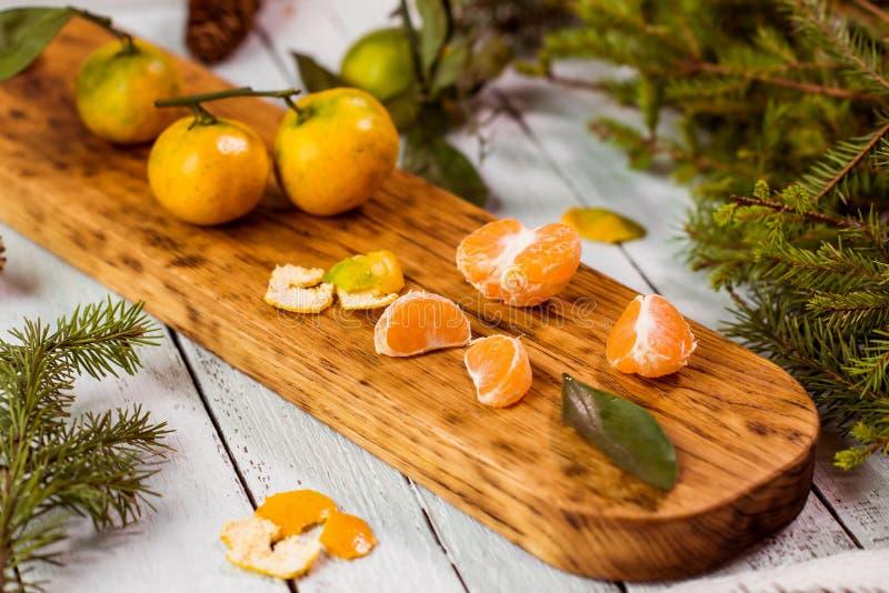 mandarijnen royalty-vrije stock afbeelding