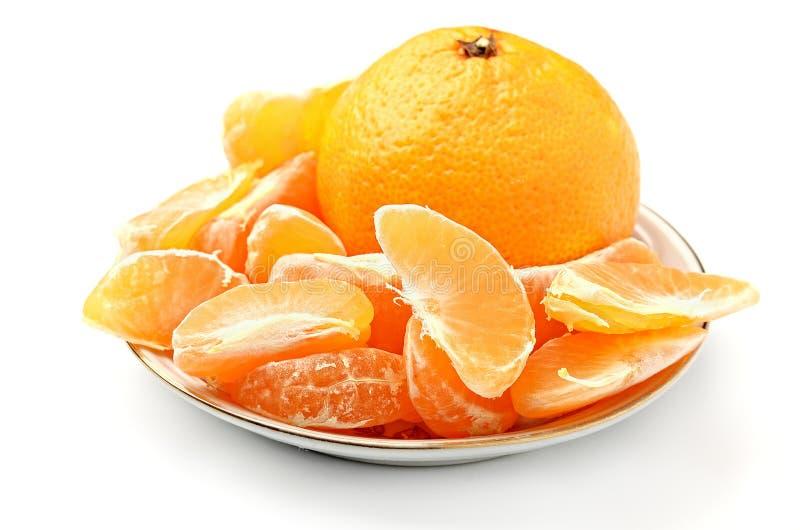 Mandarin royalty-vrije stock afbeeldingen