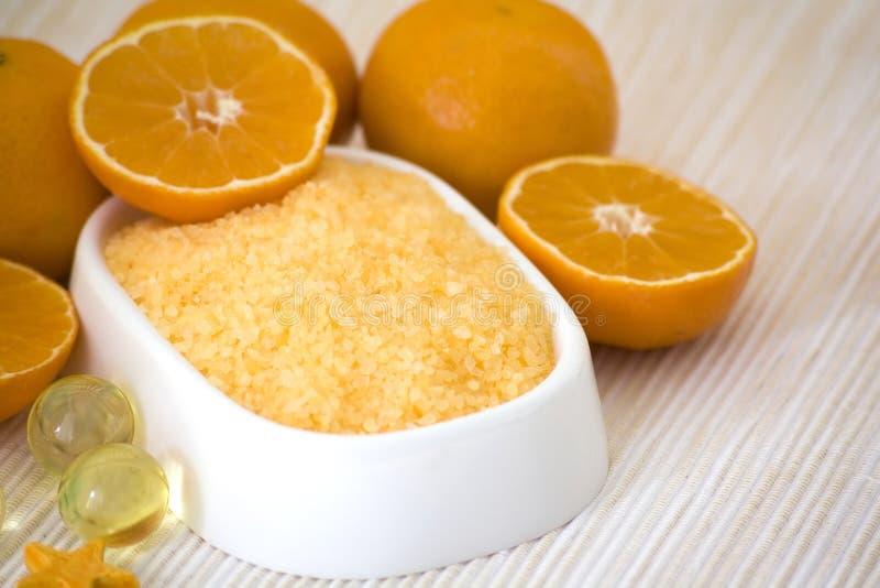 Mandarin bad stock foto's
