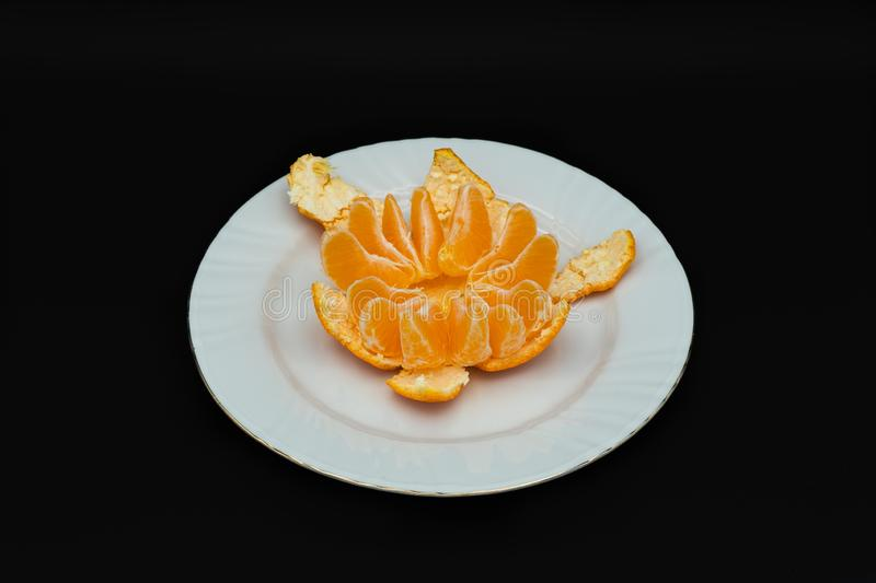 Tangerines from Spain royalty free stock photos