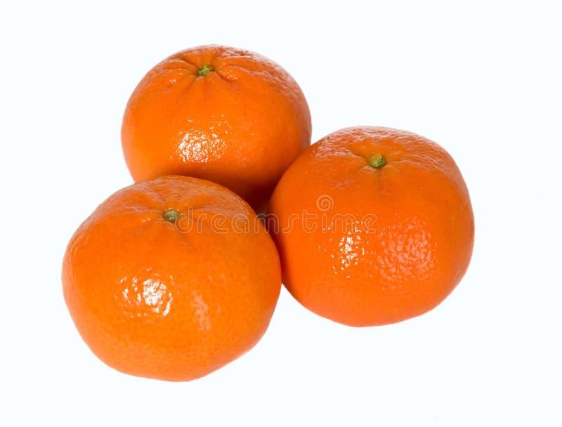 Mandarin Fruit And Orange Juice In Glass Stock Photos