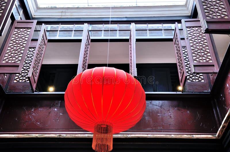 Mandarin huis royalty-vrije stock afbeeldingen