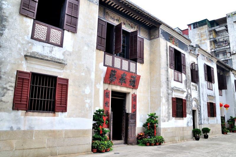 Mandarin huis stock foto's