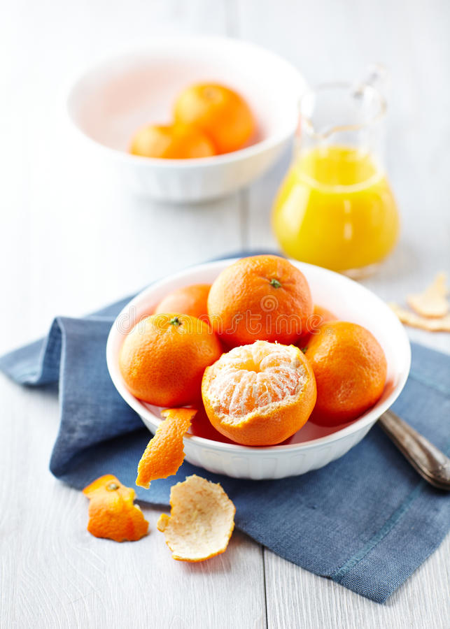 Download Mandarin Oranges stock image. Image of citrus, napkin - 28764353