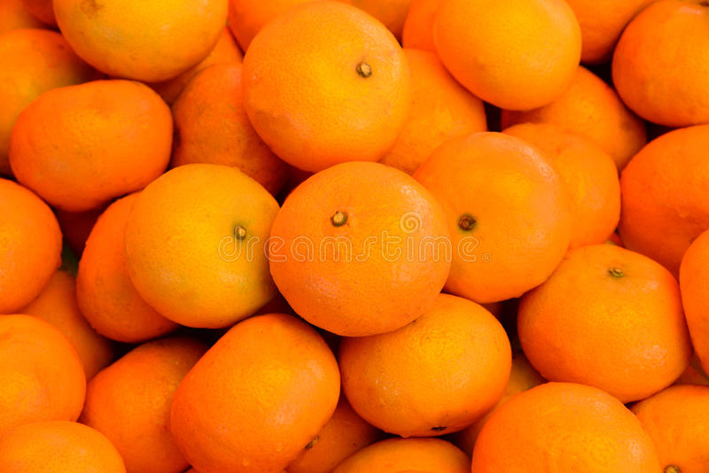 Mandarin Oranges. Fresh Mandarin oranges at the market stock image