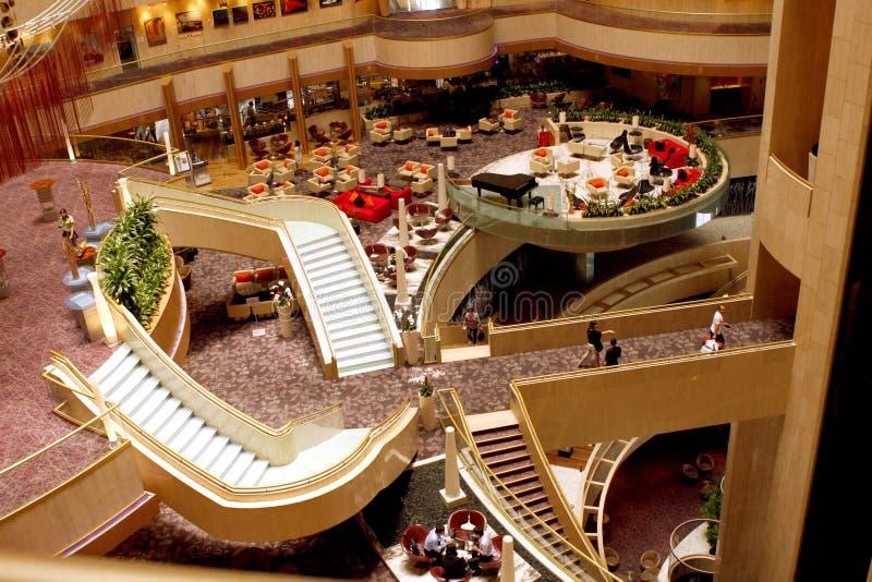 Mandarin Oriental Hotel in Singapore royalty free stock photography