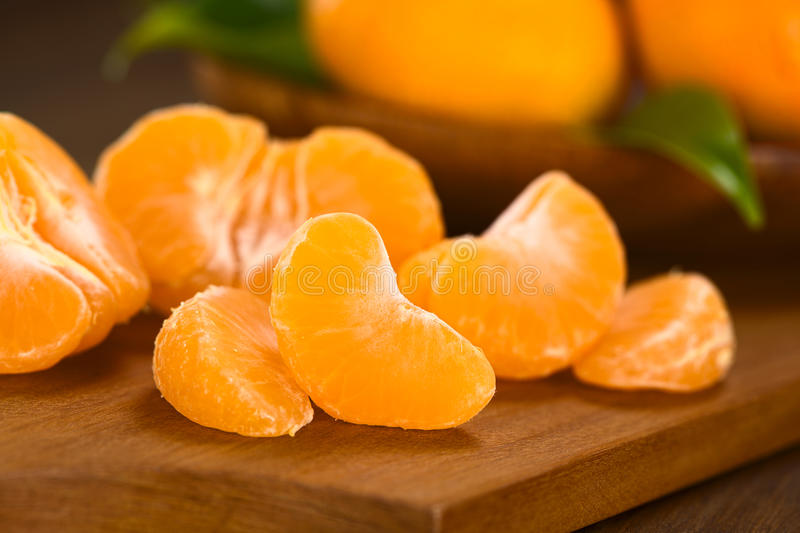 Download Mandarin Segments stock image. Image of ingredient, mandarin - 33630055