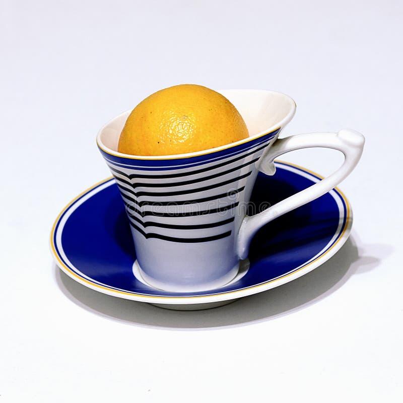 Mandarin tea stock photography
