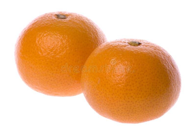 Mandarinas aisladas foto de archivo libre de regalías