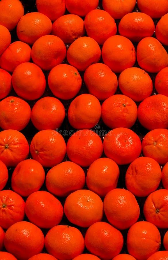 Mandarinas fáciles de la cáscara imagenes de archivo
