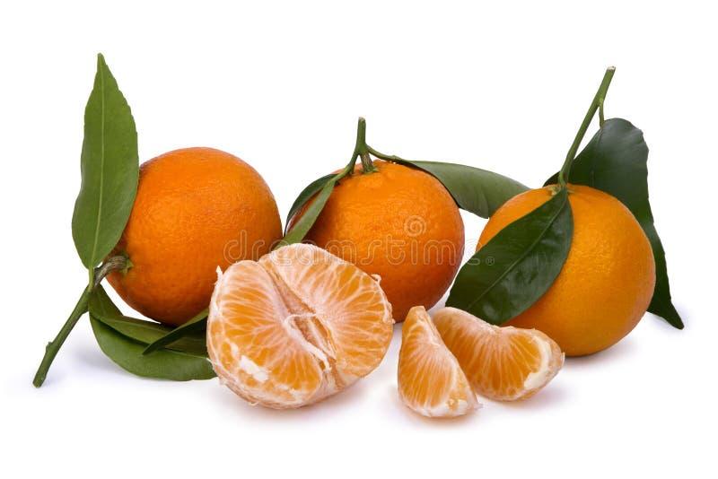Mandarinas maduras imagen de archivo