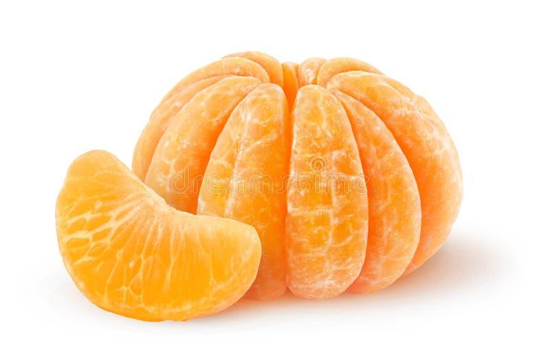 Mandarine épluchée photos stock