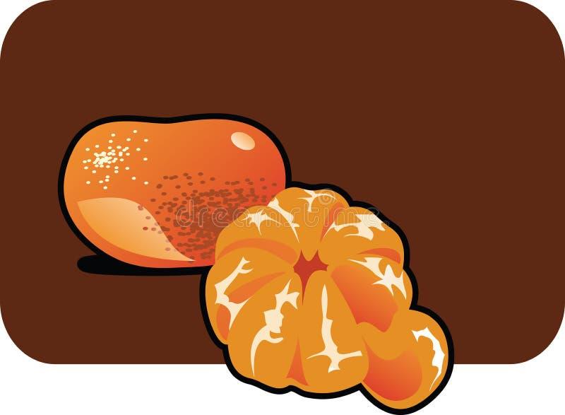 Mandarine illustration libre de droits