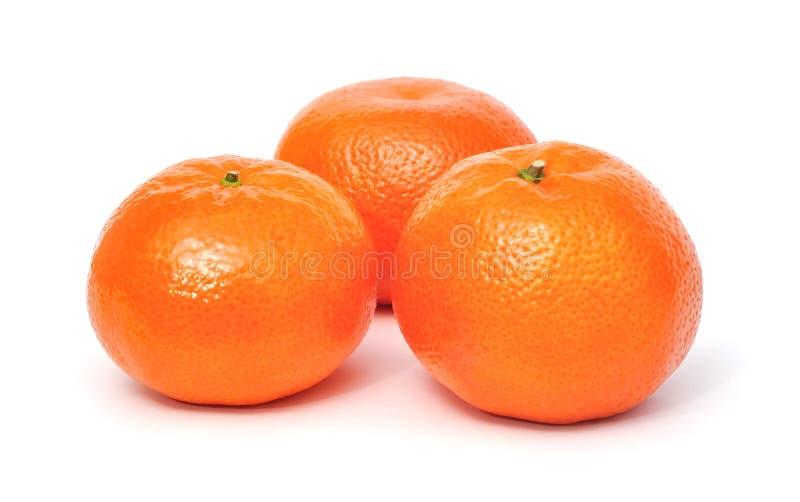 Mandarine d'isolement photographie stock libre de droits