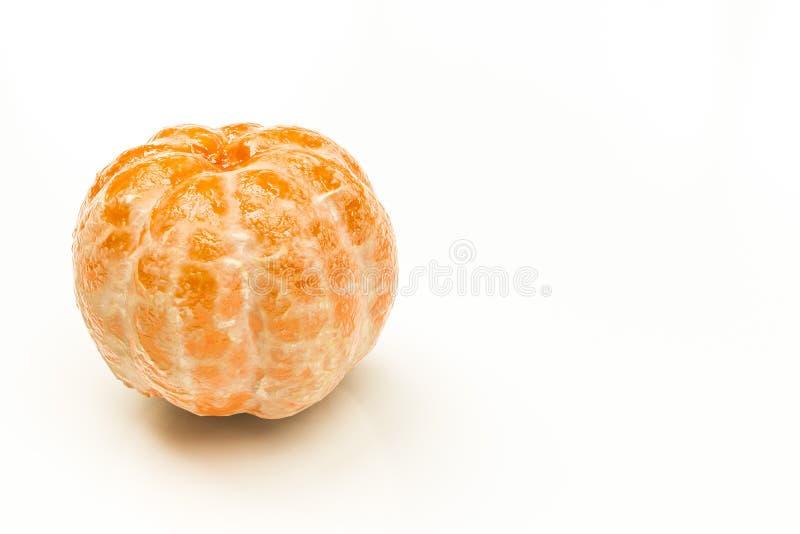 Mandarine d'isolement sur le fond blanc illustration libre de droits