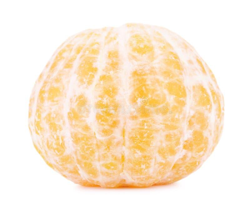 Mandarine enlevée fraîche photographie stock libre de droits