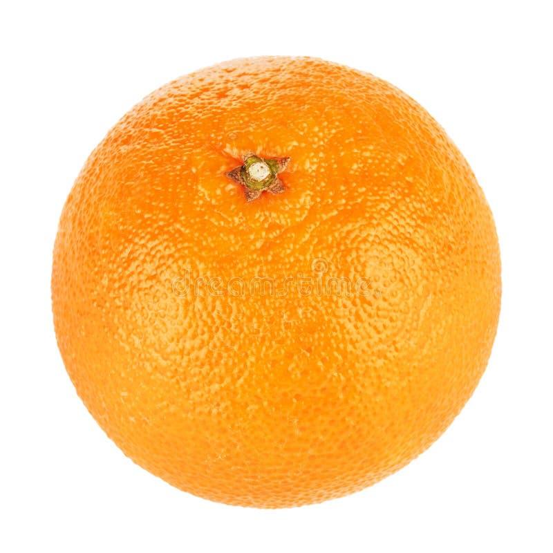 Mandarine fraîche d'isolement photo stock