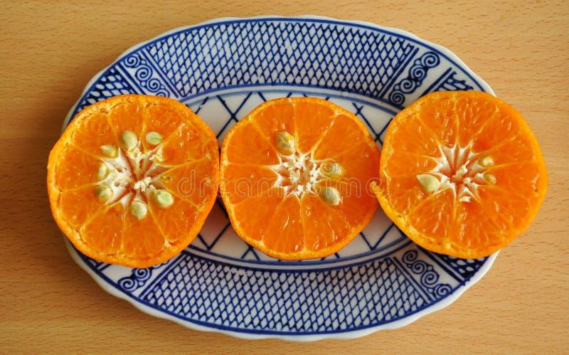 Mandarine : Un fruit sain délicieux d'orange et de fruit frais photographie stock