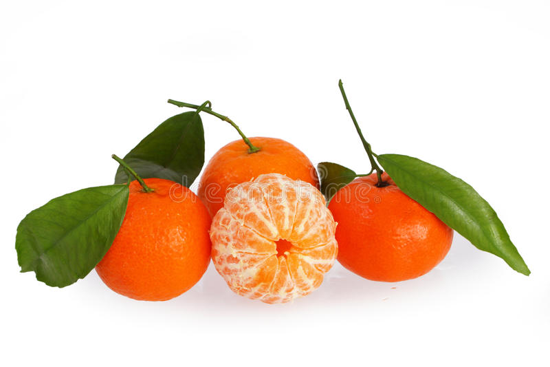 Mandarinen lizenzfreie stockbilder