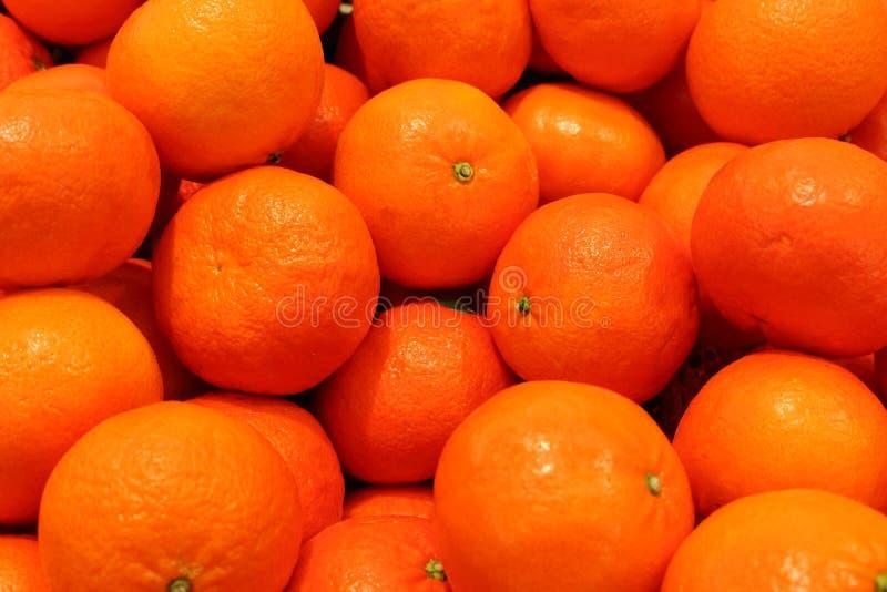 Mandarinennahaufnahme Bereiten Sie für einen Text vor Reife orange Früchte Saftige Mandarinenklementine Tropische Früchte lizenzfreies stockbild