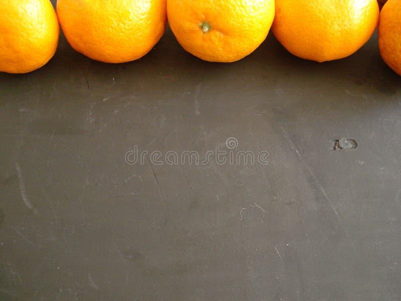 Mandariner upptill av ramen arkivfoton