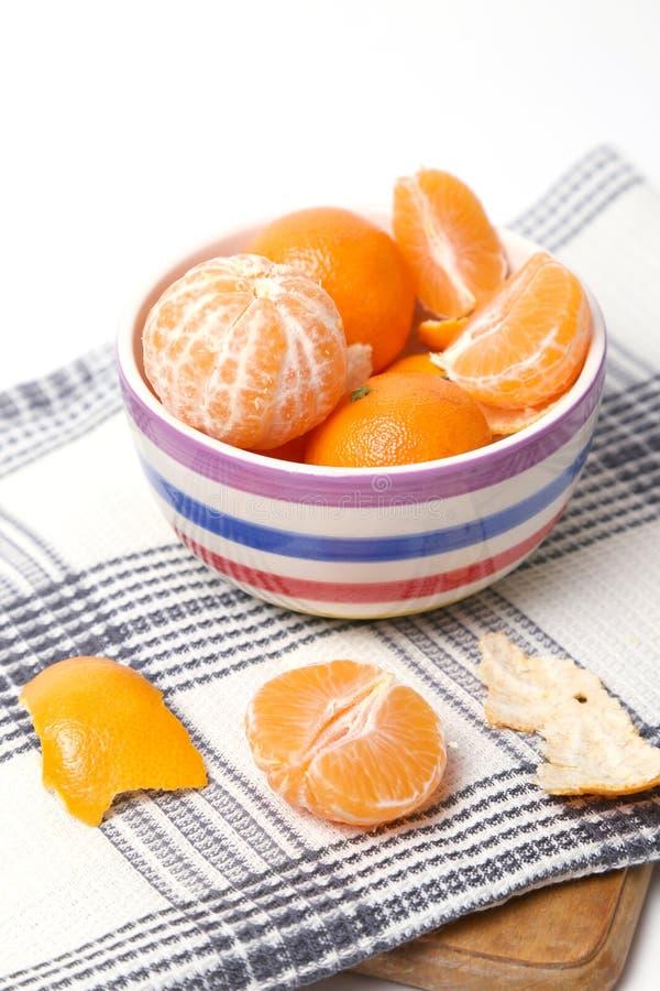 Mandarines obraz stock