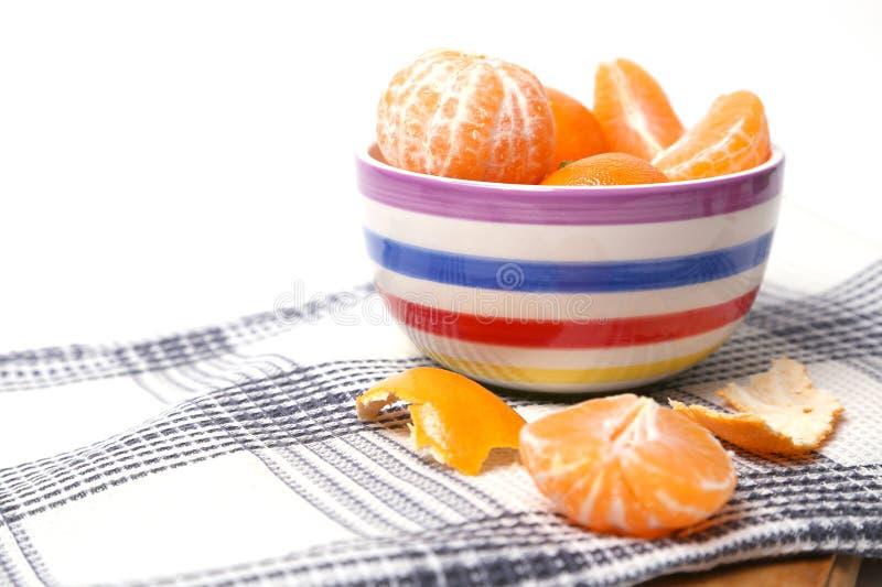 Mandarines obrazy stock